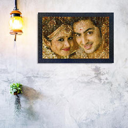 Wedding Mosaic Frame