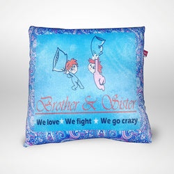 Brother & Sister Pillow - 12x12