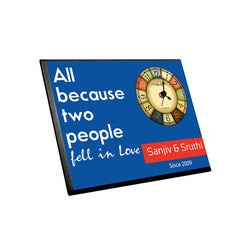 Fell In love Clock