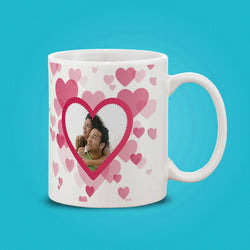 Couple Heart-WT Mug