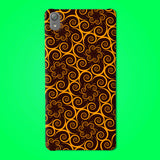 Abstract Preprinted  Mobile case -49