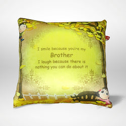 My Brother Pillow - 12x12