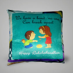 We have a bond Pillow - 12x12