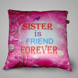 Sister is friend Pillow - 12x12