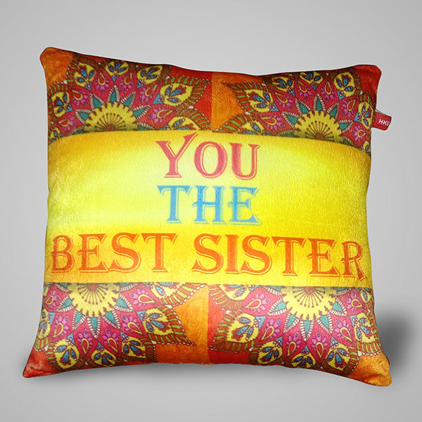 Best Sister Pillow - 12x12