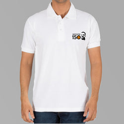 Mission150 Logo T-shirts- White