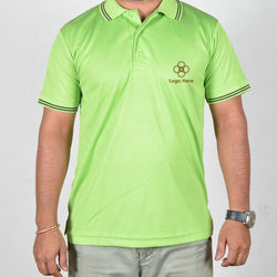 Green Collor Corporate T-Shirt