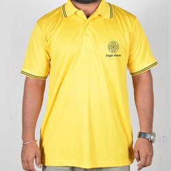 Yellow Collor Corporate T-Shirt