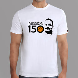 Mission 150 T-shirts- White