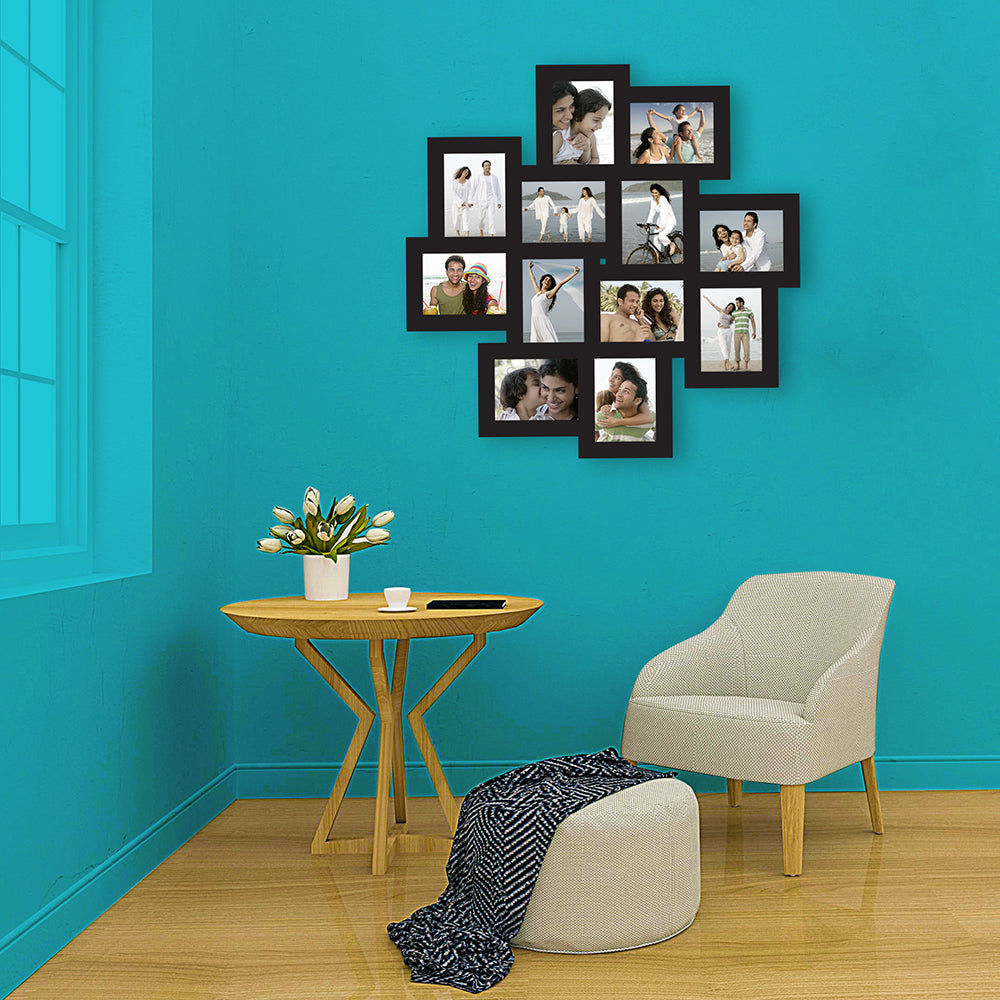 12 Picture Collage Frame-Couple