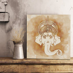 Traditional Ganesh Canvas 12x12