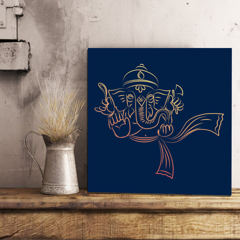 Ganesh Canvas 12x12