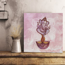 Abstract Ganesh Canvas 12x12