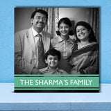 Sharma's Family 12x12 Canvas-