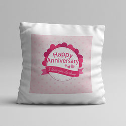 Darling Anniversary Pillow