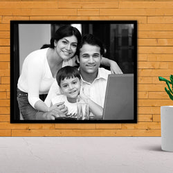 Family BW Wall Lamination