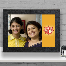 Super Mom Black Frame
