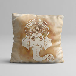 Traditional Ganesh Full Printed Pillow