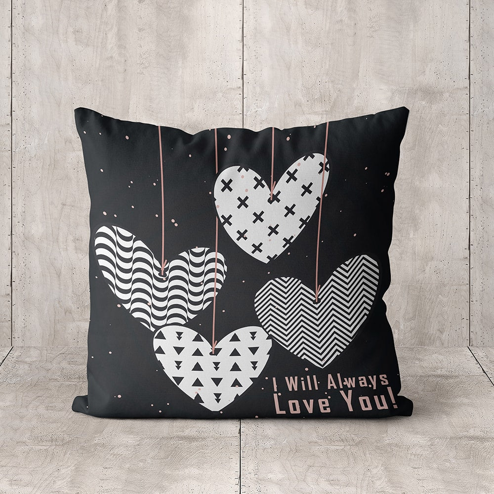 Always lve you Full Printed Pillow