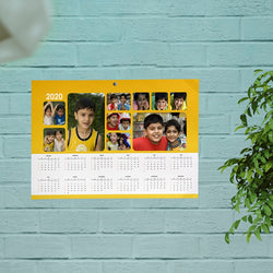 Wall Calender Kids Collage 12X18