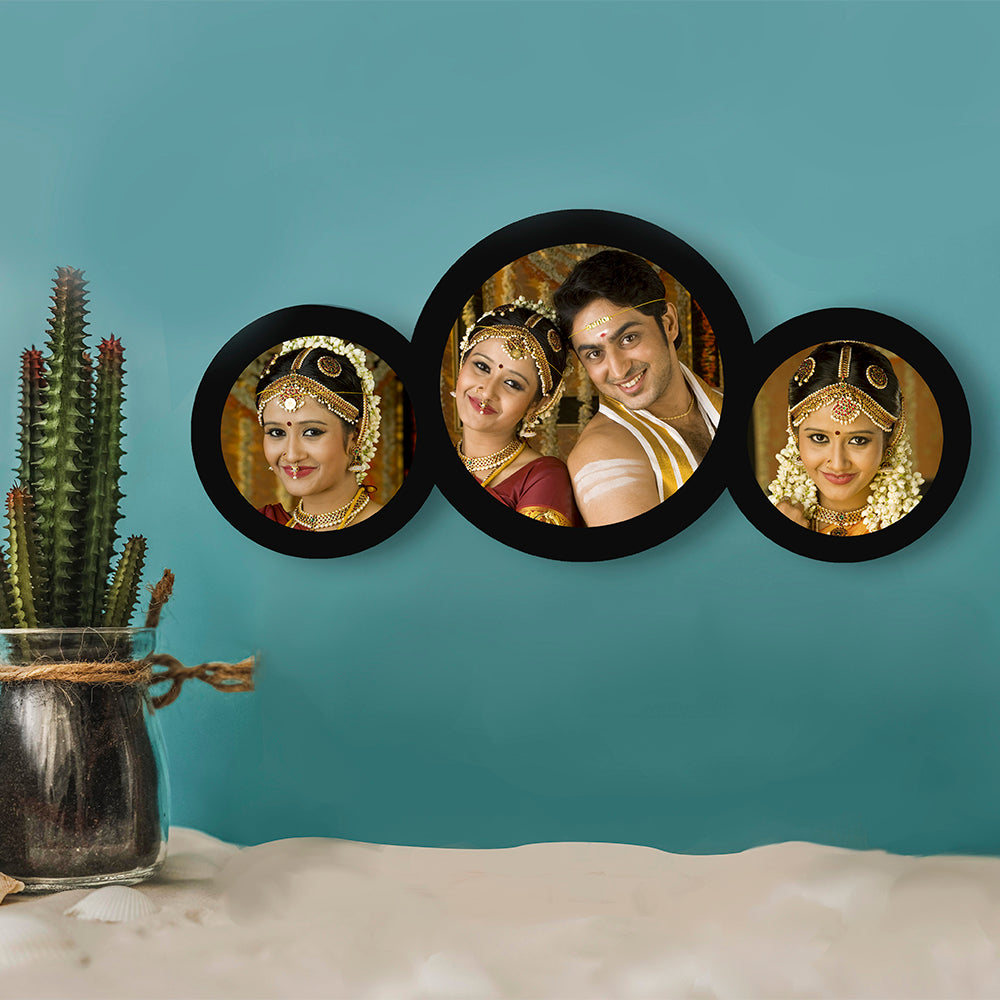 3 Picture Circle Frame