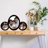 3 Pic oval Frame