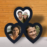 3 Pic Heart Frame-Couple