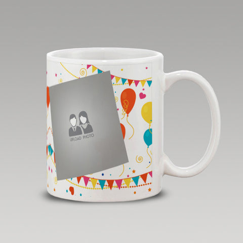 Ballon Happy Anniversary Mug