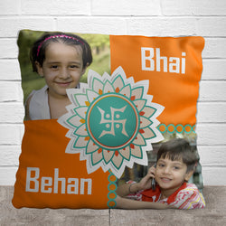 Bhai & Behan Pillow