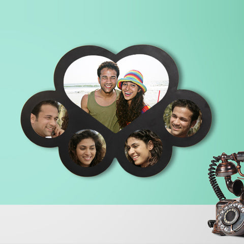 5 Picture Heart Collage-Couple