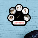5 Pic Circle with Text & Clk-Couple