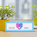 Name Heart Frame - 5x17