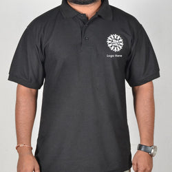 Black collor Corporate T-Shirt