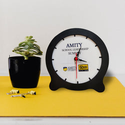 Circle Table Top Clock