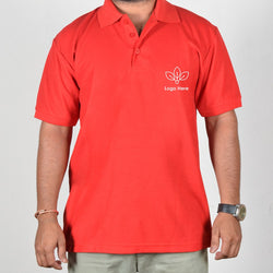 Red Collor Corporate T-Shirt