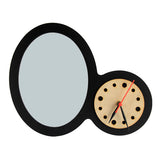 Oval Frame with clock