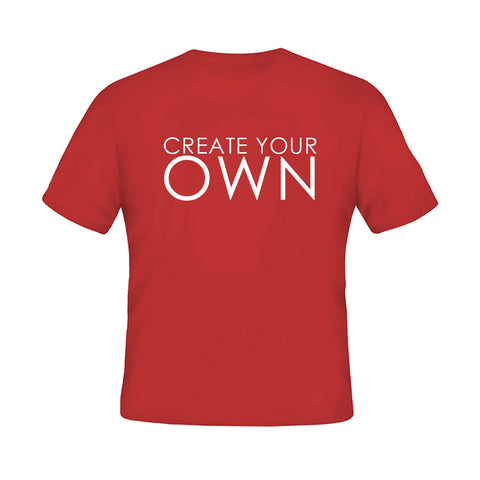 Create your Own  Red T-shirt