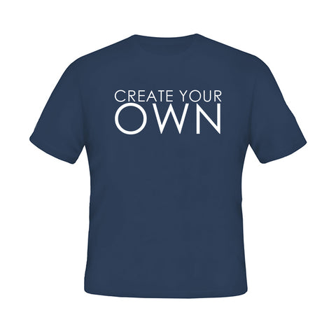 Create your Own  Blue T-shirt