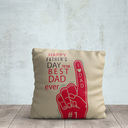 Dad Ever Printed Pillow