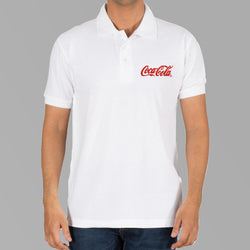 Cocacola Logo T-shirts- White