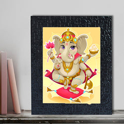 Yellow Ganesh Frame