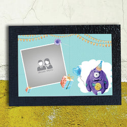 Cyan Clipart Birthday Frame