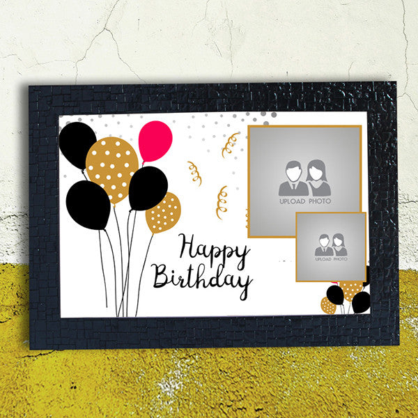 Ballon Birthday Frame