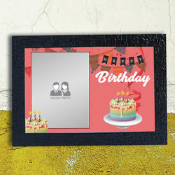 Pink Happy Birthday Frame