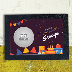 Celebration abstract Happy Birthday Frame