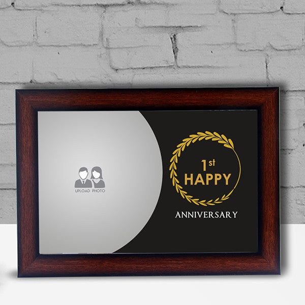 1st Anniversary Frame Photoexpress In