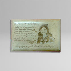 Wooden Engraving WP 1 4x6