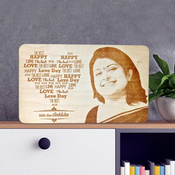 Mom Wooden Engraving