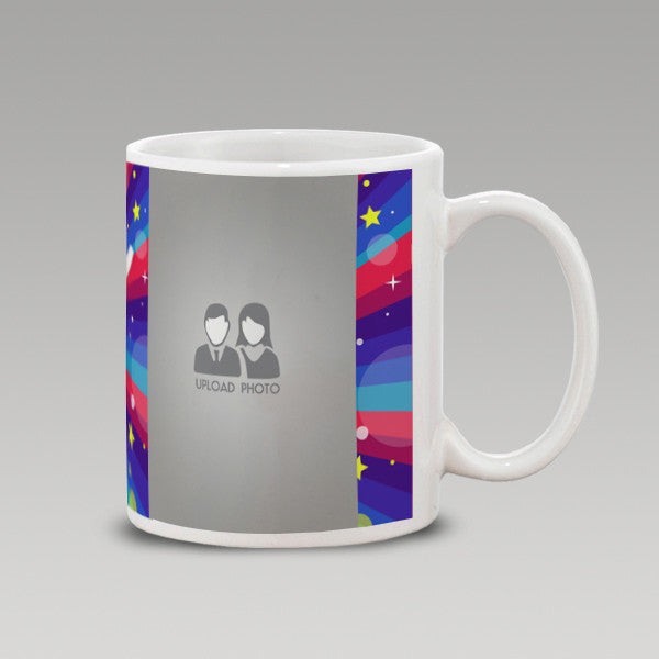 Abstract Birthday Celebrations Mug