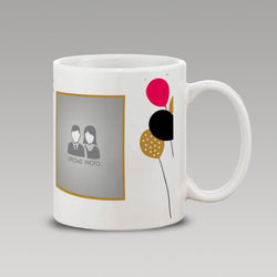 Abstract Birthday Gift Mug